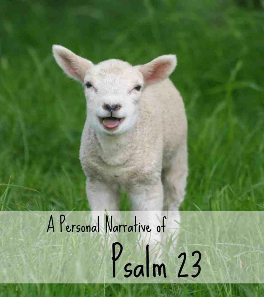 Psalm 23: A Personal Narrative