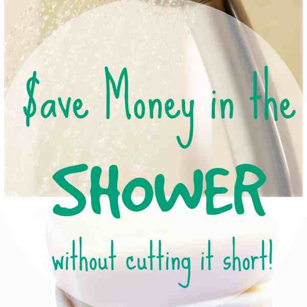 Save Money in the Shower – How to Save Money at Home Series Part 3