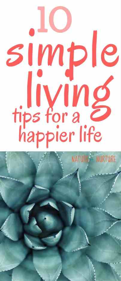 Simple living is difficult in today's world, but it can be done! Let's look at the ten different areas that will help you learn how to live a simple life.