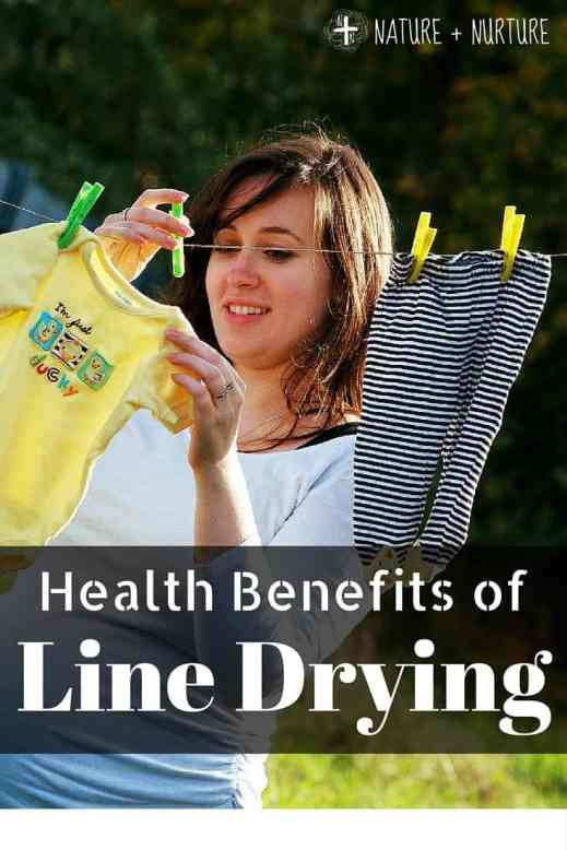 Health Benefits of Line Drying Laundry