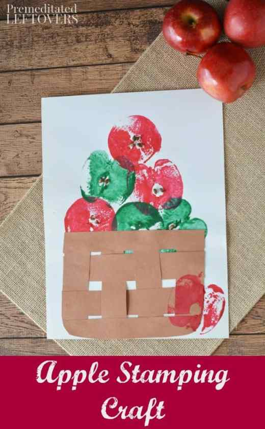 Apple-Stamping-Craft