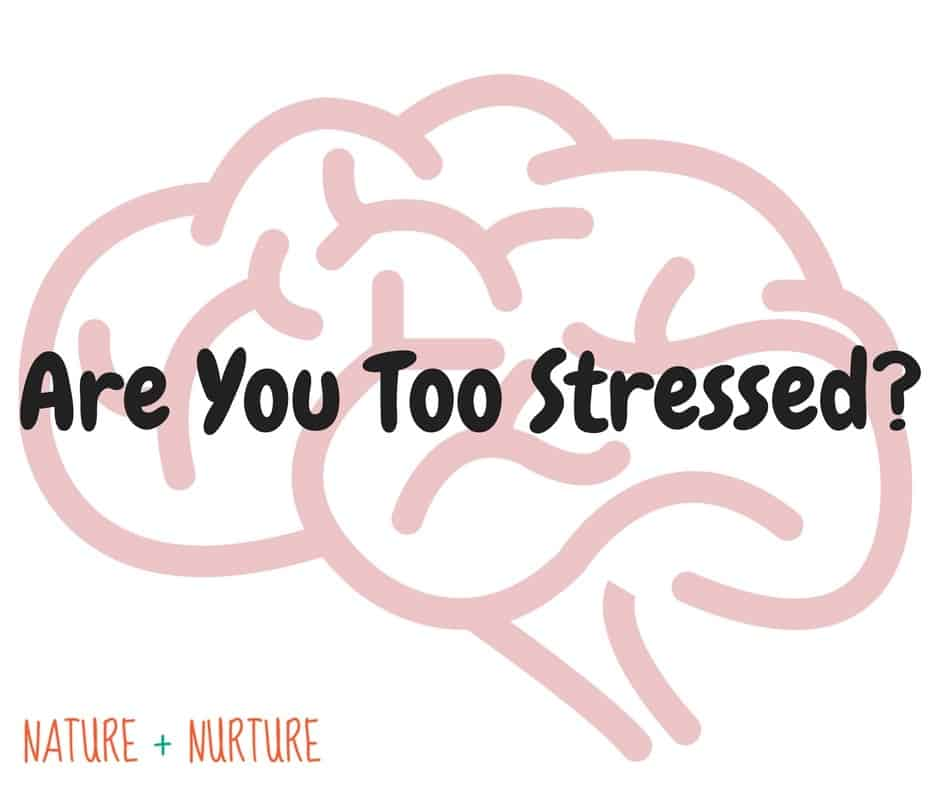 Are You Too Stressed?