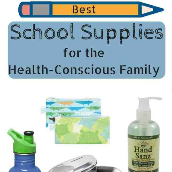 School Supplies for the Health-Conscious Family
