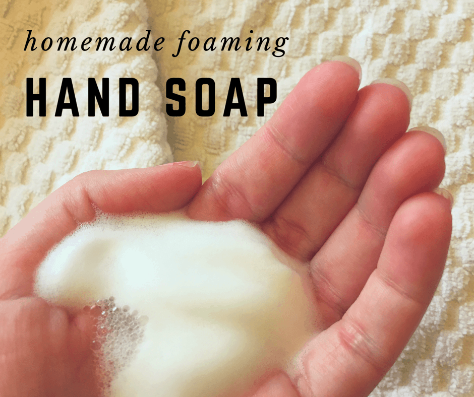 how to make homemade hand soap