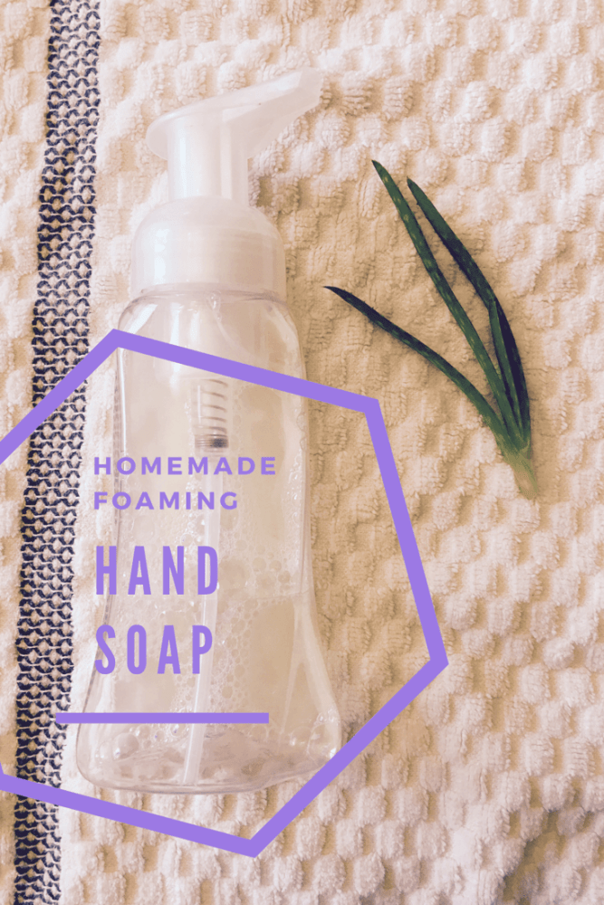 DIY Foaming Hand Soap Recipe – Easy, All Natural & Frugal