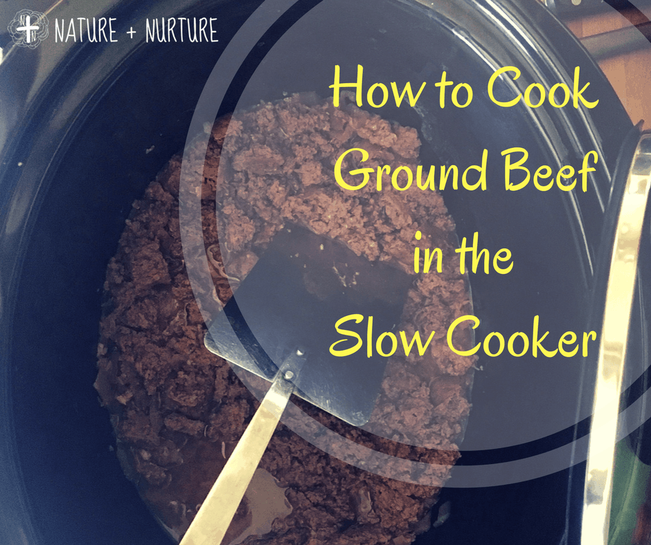how to cook ground beef