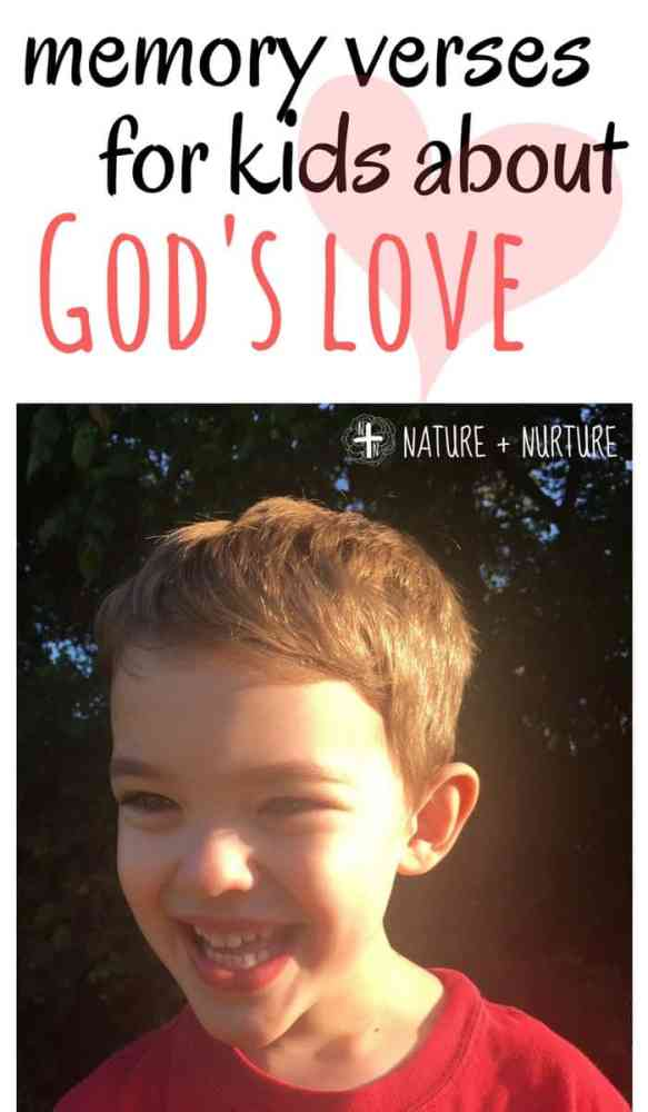 The Bible contains many examples of God's love, but this list compiles the best memory verses for kids. Help your child understand God's love better!