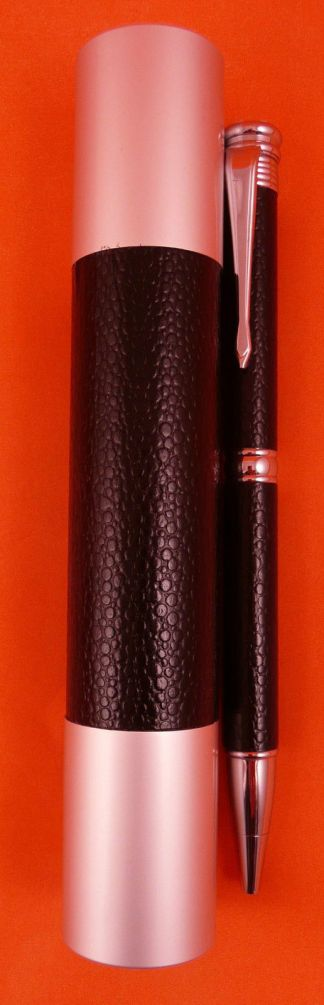 Ball Point Pen Diamante / Leather Look