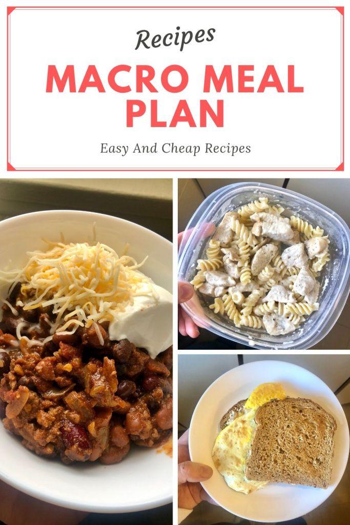 easy macro diet recipes