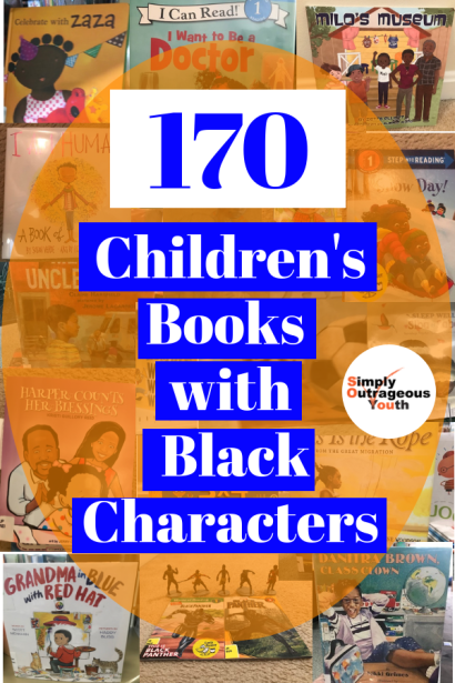 170 children's books with black characters