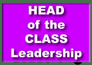 Head of the Class Leadership Program