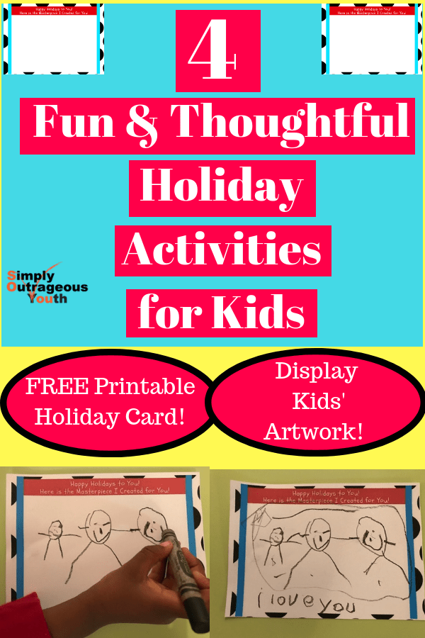 4 holiday activities