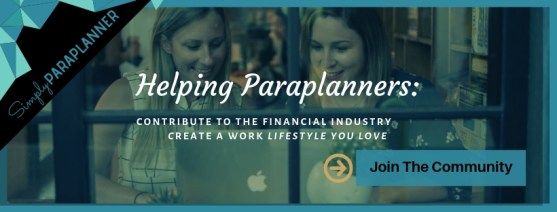 Paraplanner Facebook Group