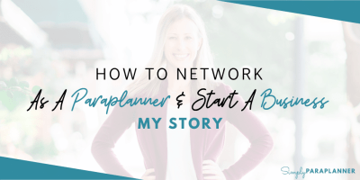 How To Network as a Paraplanner