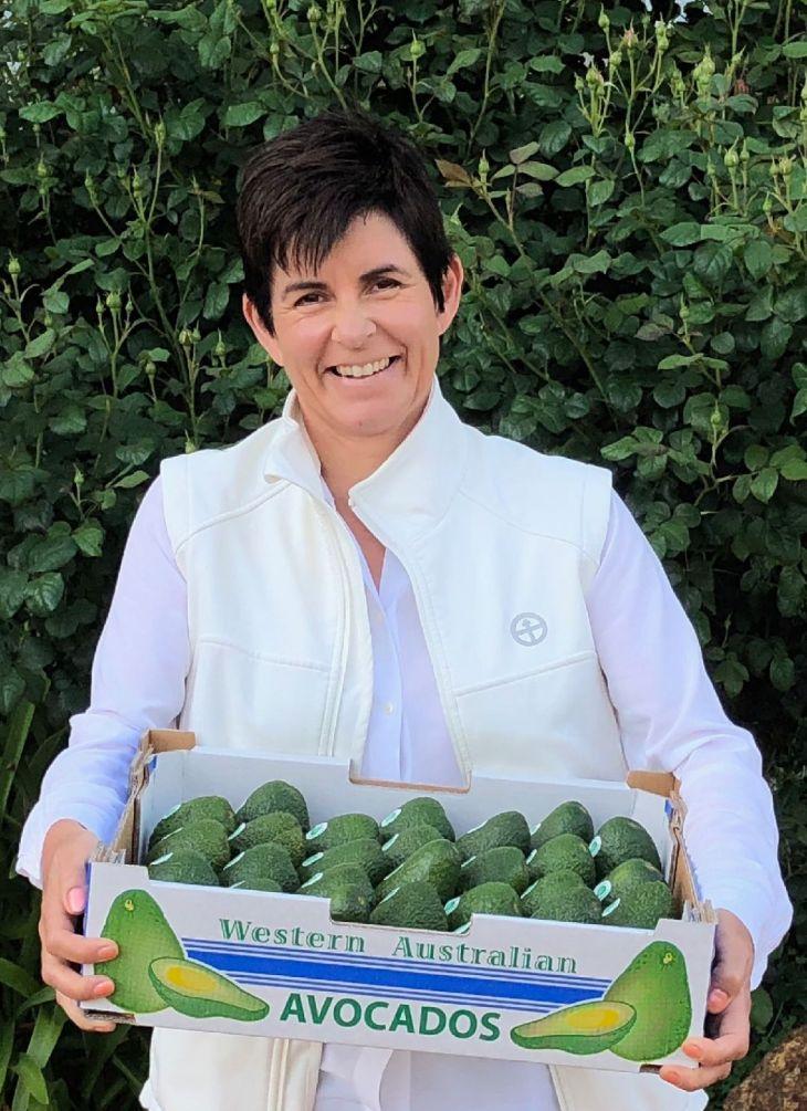 TV presenter and gardening guru Sue McDougall