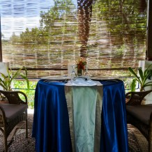 Private dining in the mangroves