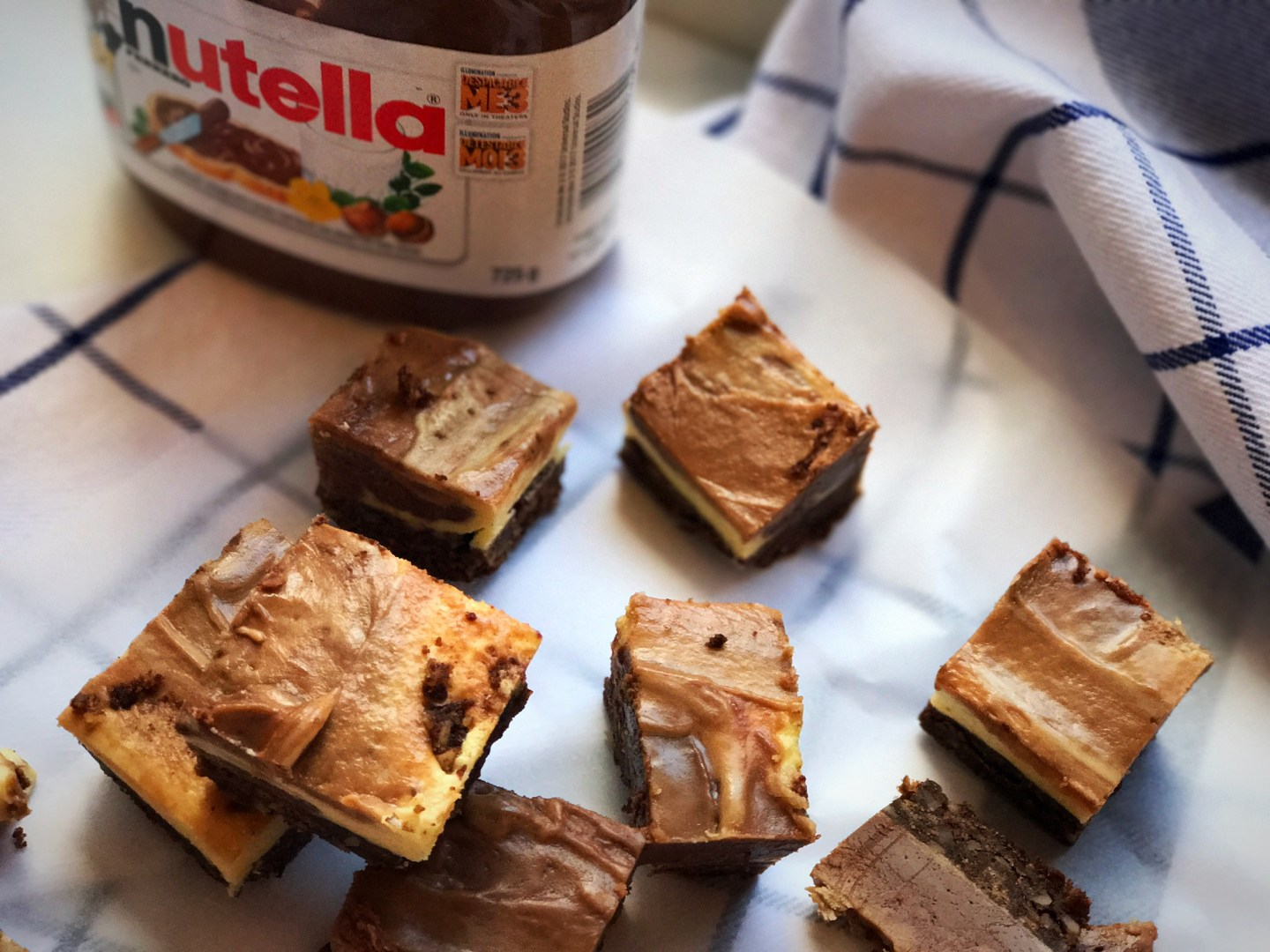 Nutella Nanaimo Bars