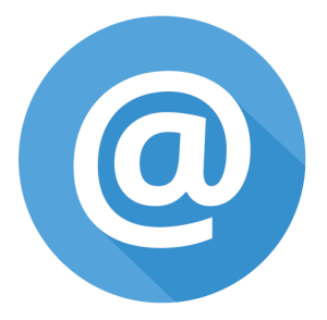 email-address-blue-icon
