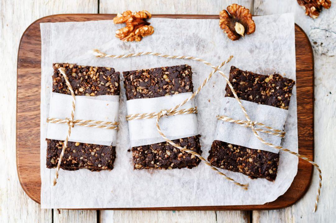 workshops - raw vegan dates coconut walnut chocolate bars