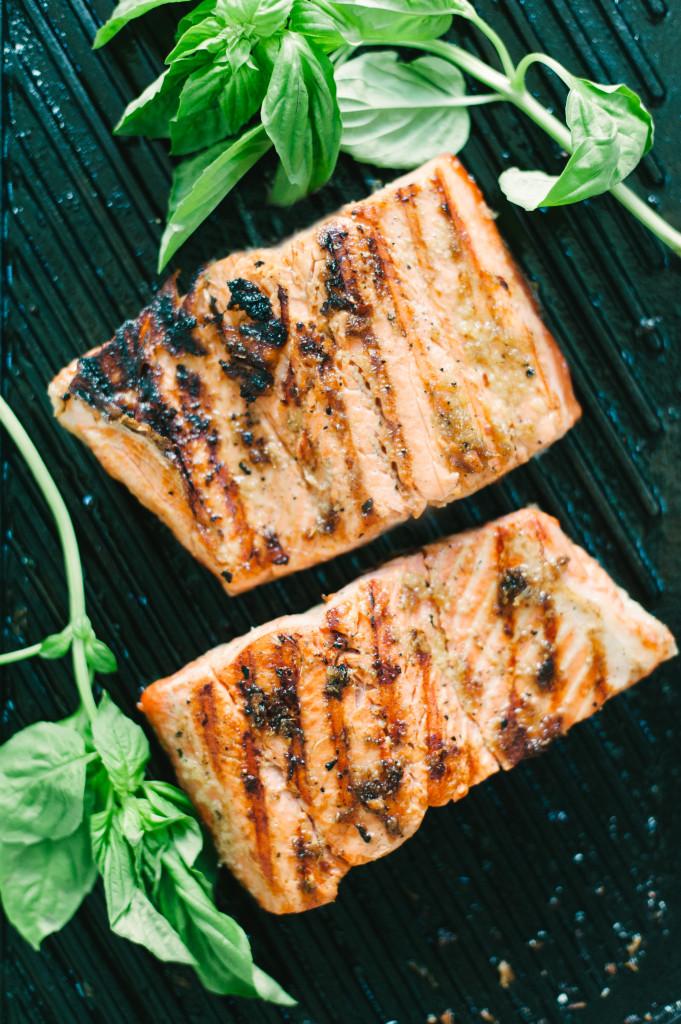 Molasses Ginger Salmon via Simply Real Health