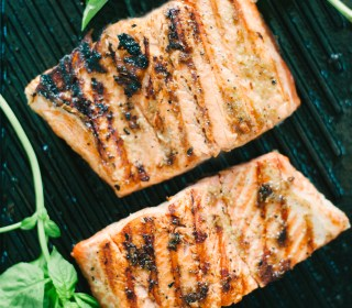 Molasses Ginger Salmon