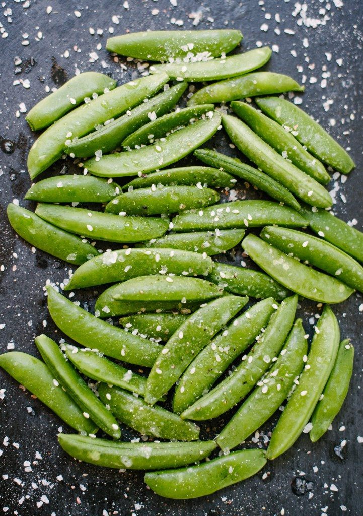 Sesame Snap Peas from The SImply Real Health Cookbook
