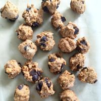 Pumpkin Coconut Chocolate Chip Balls