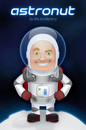 Astronut is a great Iconfactory creation.