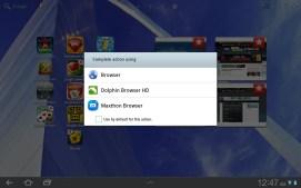 Choosing a new default browser. Nice.