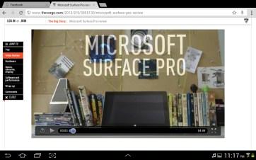 HTML5 video runs just fine in Chrome.