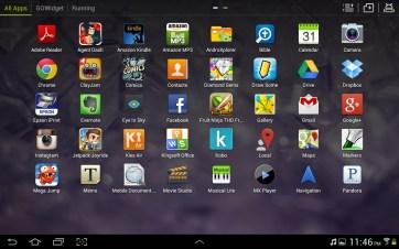 The Go app launcher.
