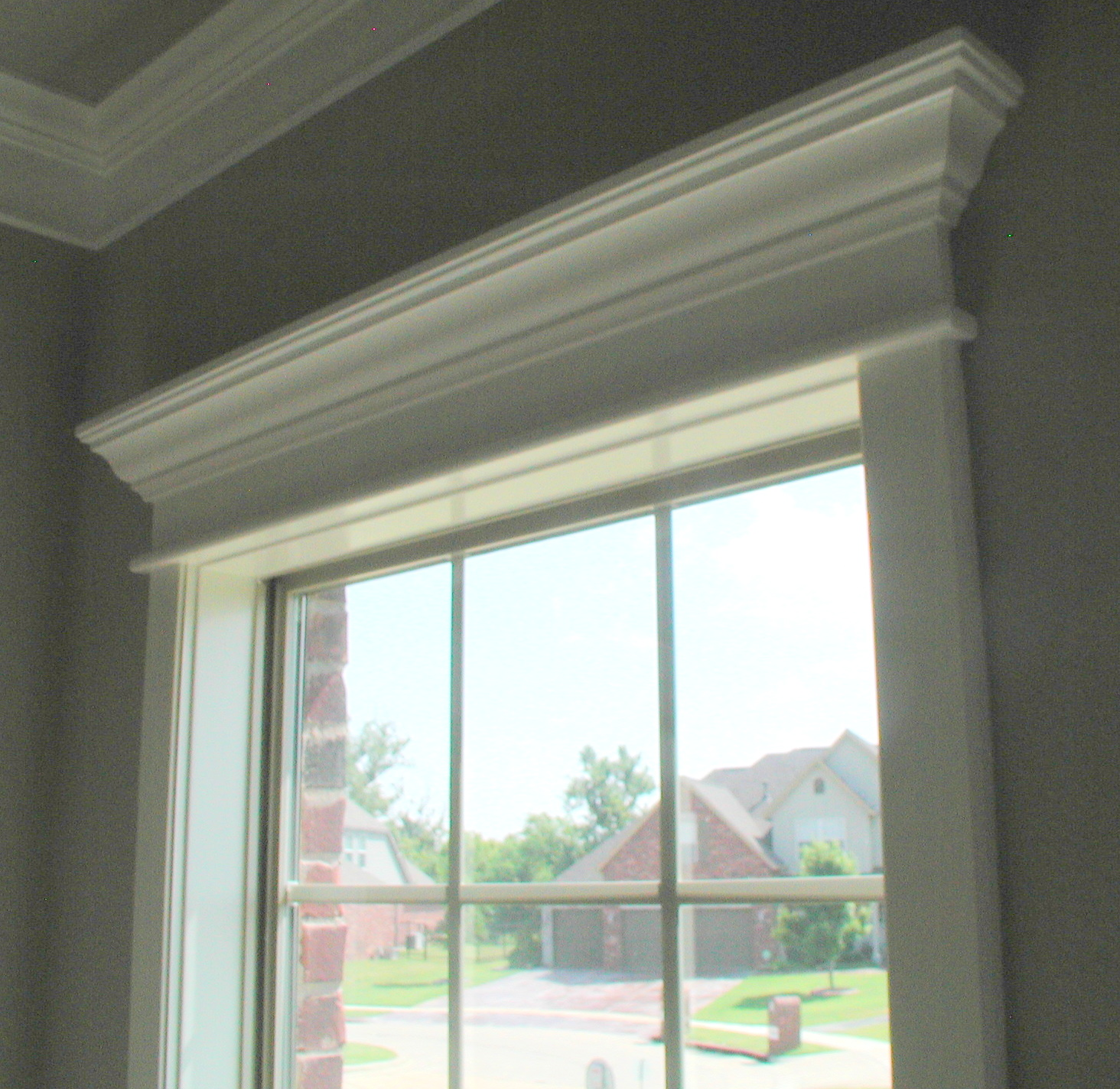 window top molding
