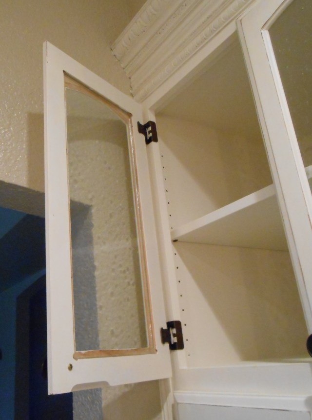 Diy Changing Solid Cabinet Doors To Glass Inserts Front