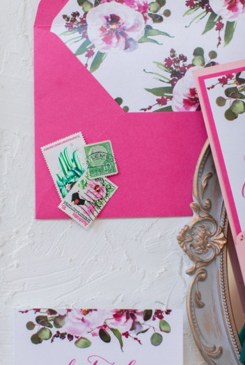 Flay Lay Styling Prop - Stamps. Simply Rosie Designs, LLC.