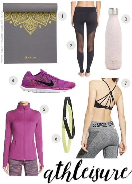 wednesday wishlist, wishlist, zella, fashion, athletic, athleisure, athletic fashion, fashion trends, workout