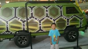 Turtle Assault Van