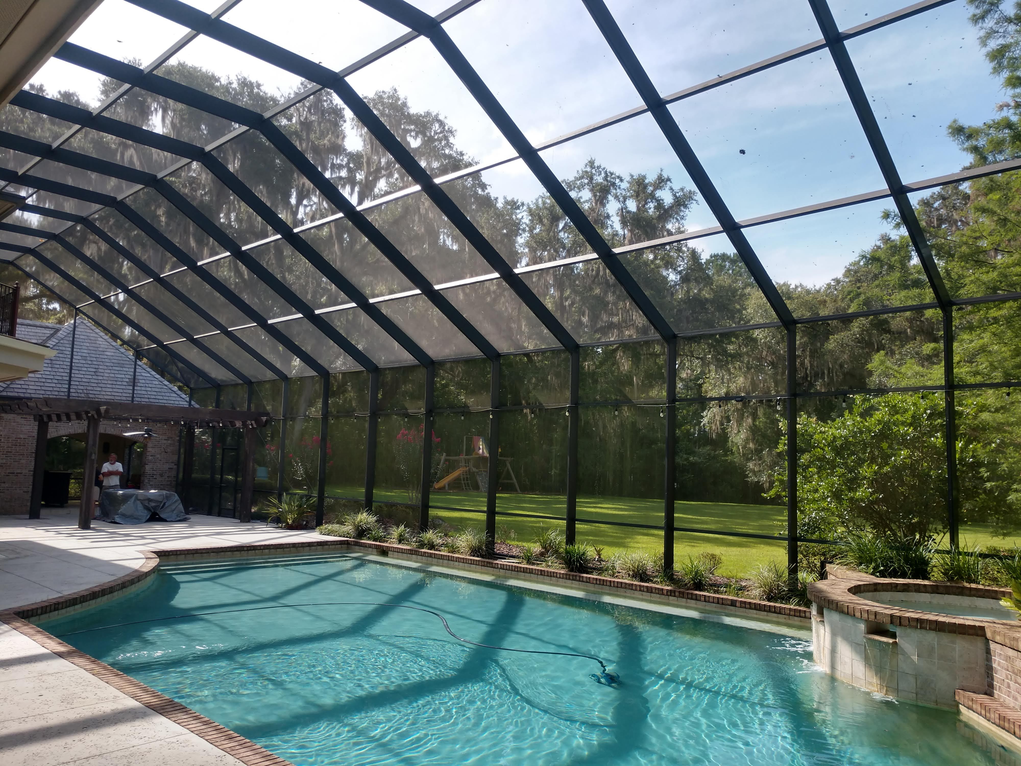 Pool Enclosure screen