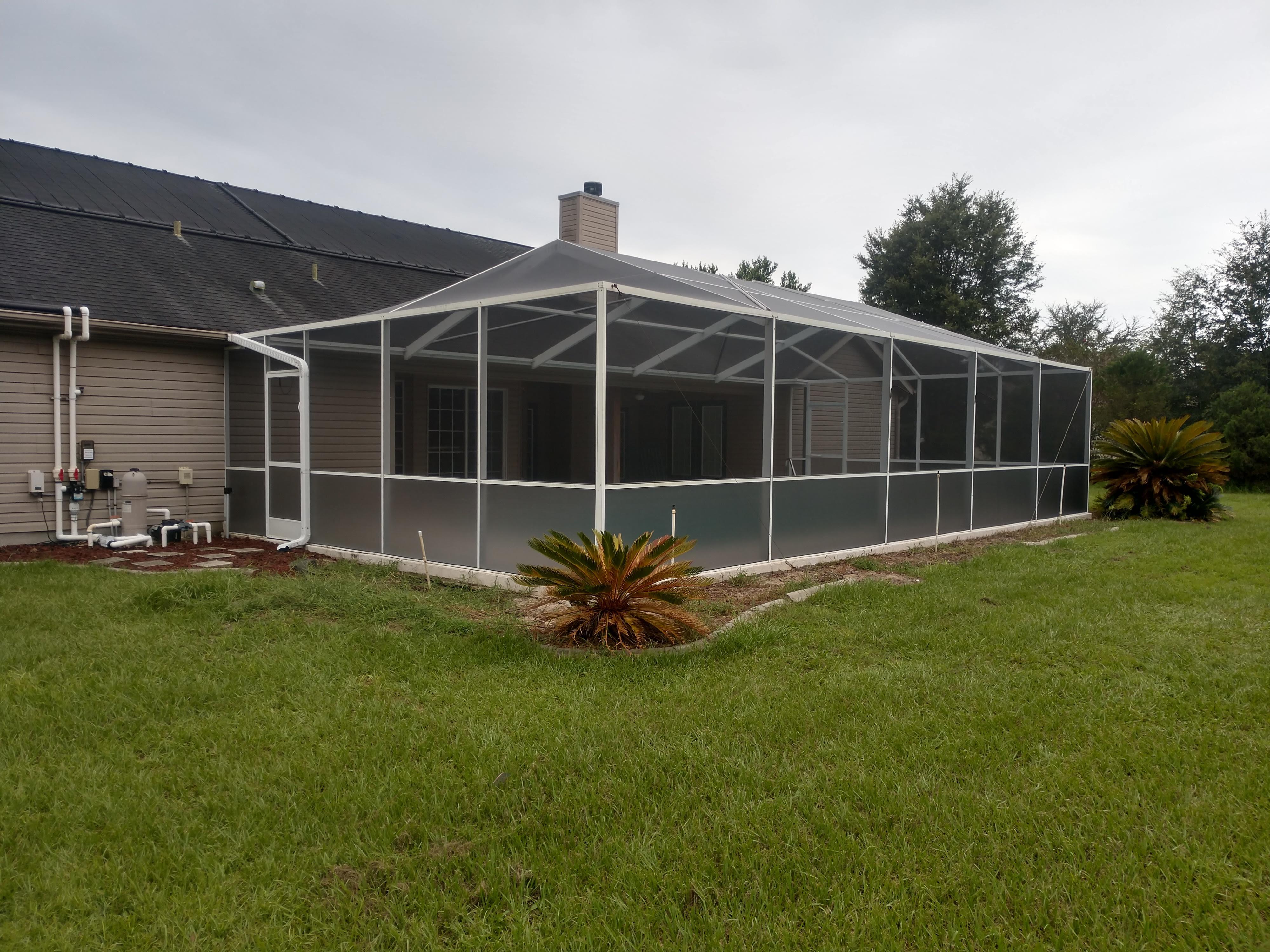 Pool Enclosure screen