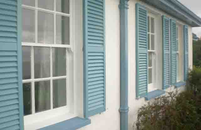 Plastic Decorative Exterior Window Shutters