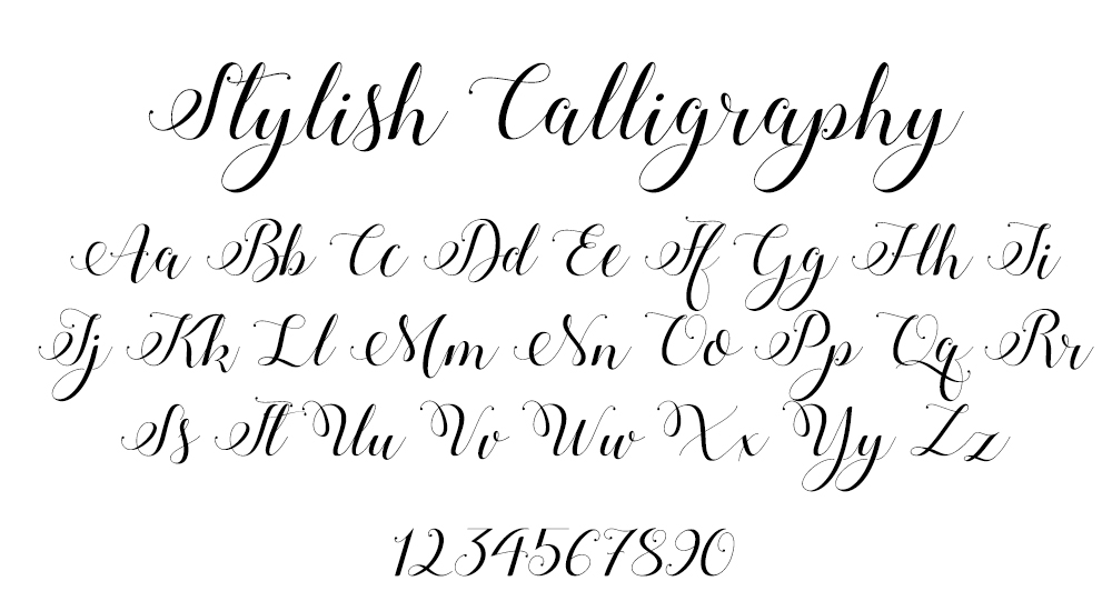 Stylish Calligraphy