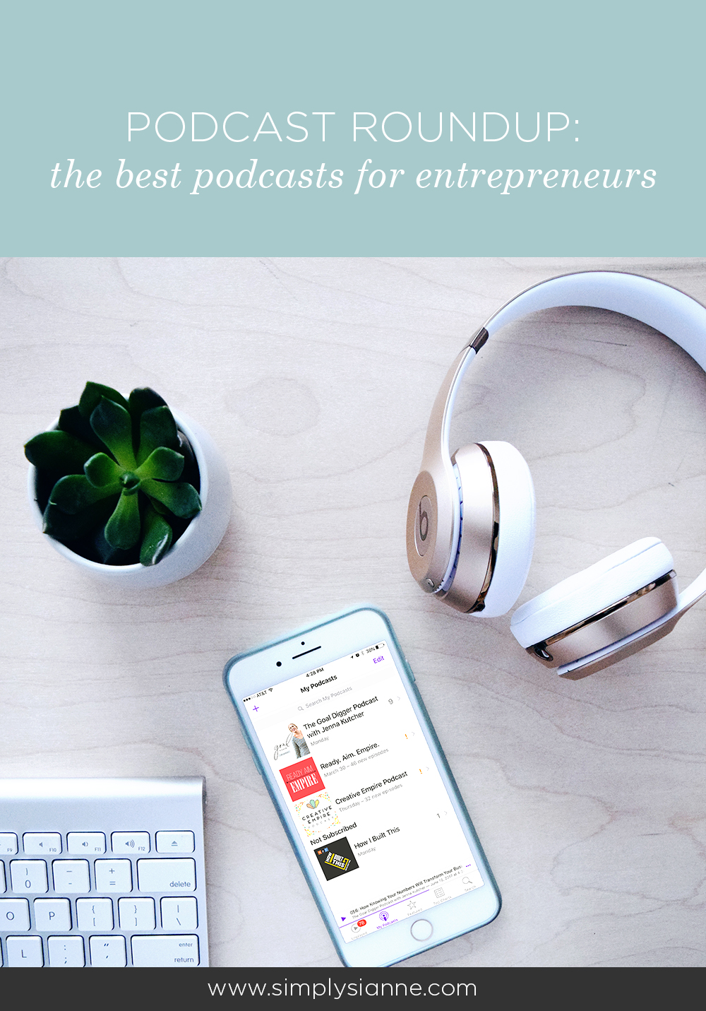 A round of up of the best podcasts for entrepreneurs