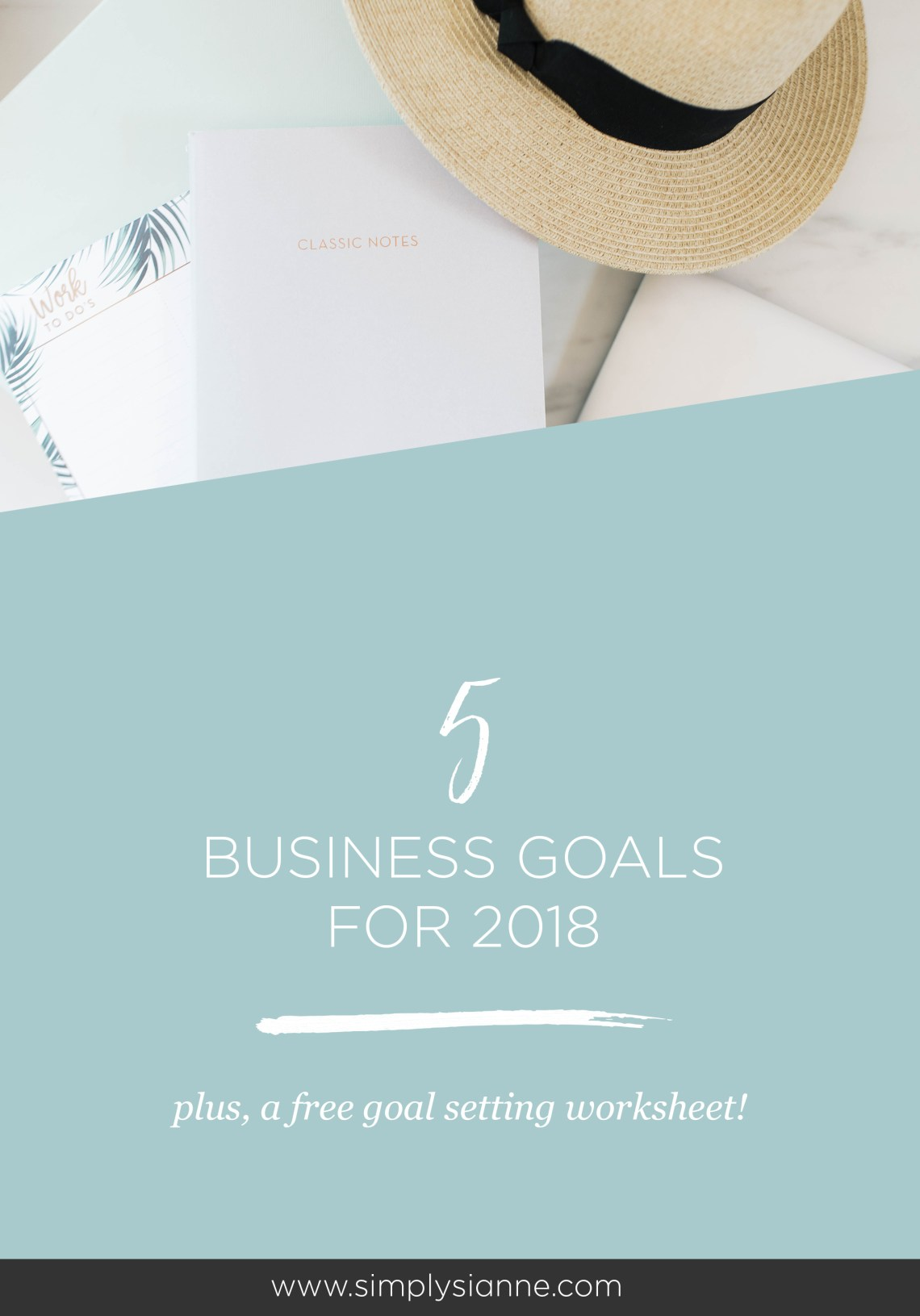 I'm declaring my business goals for 2018, right here, so I can silence the little voice in my head, and get after my dreams. I've got 5 lofty business goals this year, and I am putting it out here to help keep me accountable. Read my 5 biz goals for the new year here.