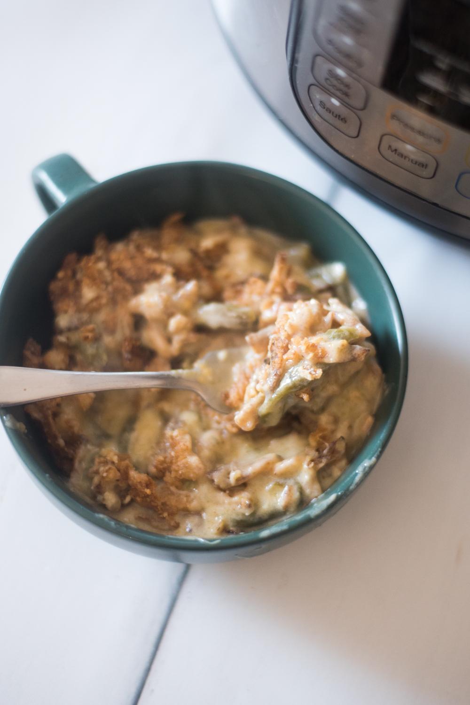 instant pot green bean casserole
