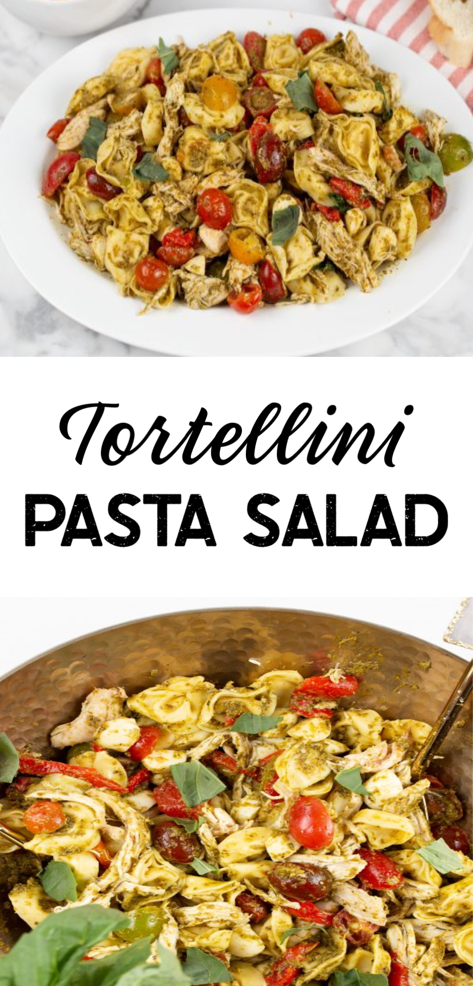 Tortellini Pasta Salad is a delicious dish that is simple to make. The fresh veggies, chicken and creamy Salad dressing are amazing combinations that make up this light and mouth-watering salad. via @simplysidedishes89