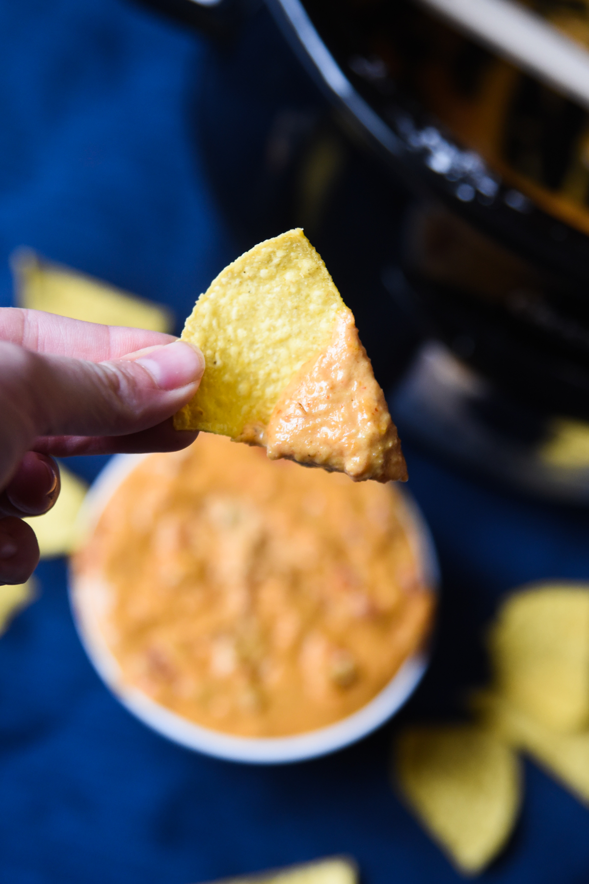 queso on a chip