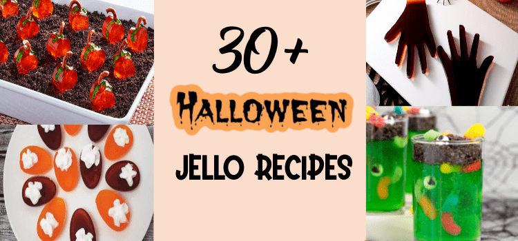 Halloween jello recipes