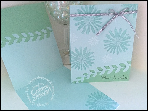 FLASH CARD – Blooms & Wishes Wedding Card – Video No. 82