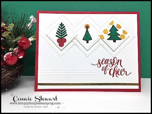 TEACH Me That! Learn how to create a DECORATIVE SCORED BORDER at www.SimplySimpleStamping.com - look for the October 12, 2017 blog post