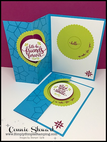 FANCY FOLDS BLOG HOP - come see all the great cards from around the world at www.SimplySimpleStamping.com - February 14, 2018