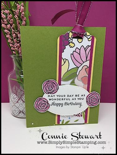 MAKE IT MONDAY – Birthday Bookmark Card